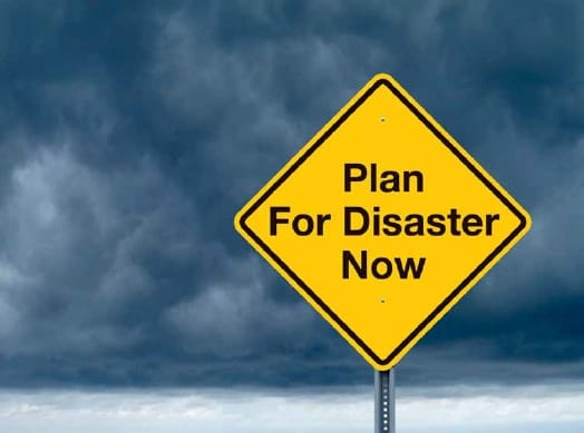 Plan ahead - Disaster Recovery Planning