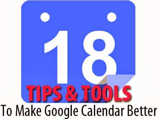 Google Calendar Tips