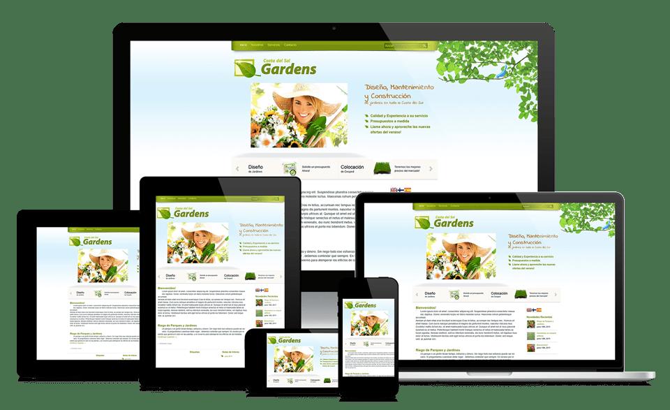 Website Design and Hosting Services - We design sites that respond to desktop, tablet and mobile devices