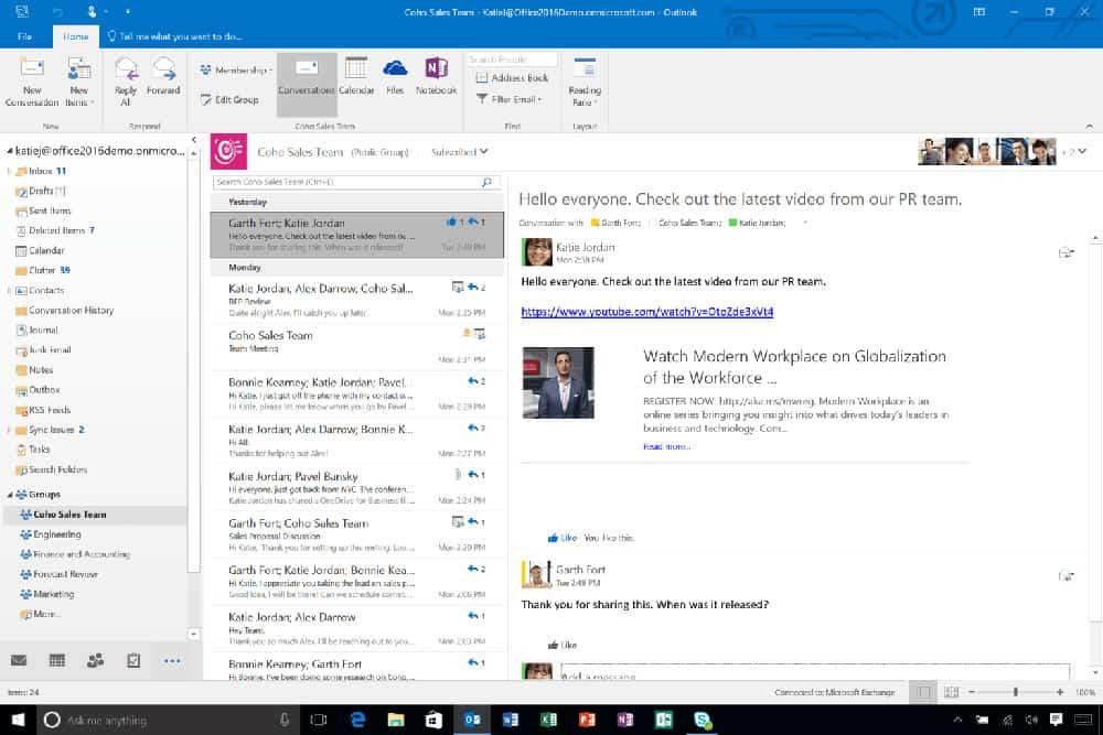Stop using desktop email clients - Bisinet Technologies